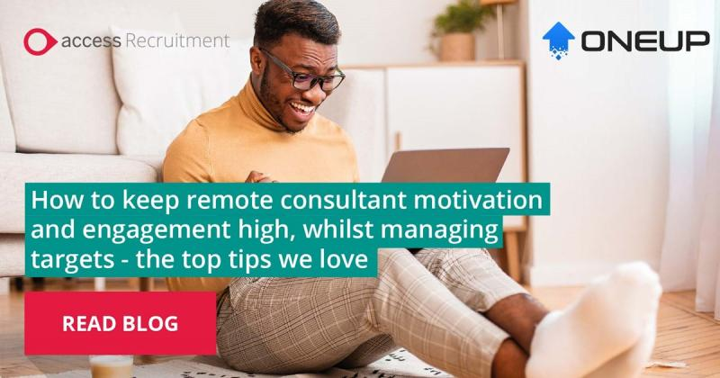 How to keep remote consultants motivated - Click here to read