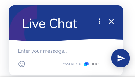 Tidio chatbot