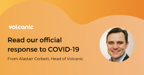 Volcanic's official response to COVID-19