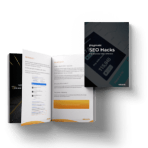 Ebook - Pragmatic SEO hacks that really make the difference