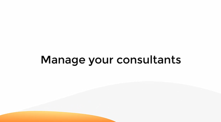 Manage Your Consultants